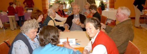 Zahlreiche Aktivitäten werden im Rahmen des Seniorenprogramms angeboten