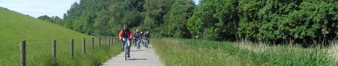 Fahrradfreundliche Stadt